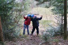 Vánoční stromeček pro lesní zvěř