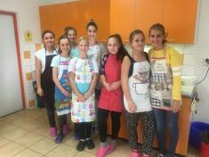 8.třída - děvčata vařila