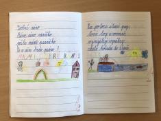 Psaní v 1. třídě
