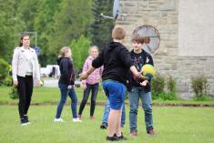 Pobyt venku se školním klubem
