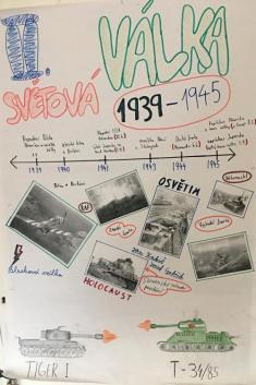 PROJEKT II. světová válka očima deváťáků